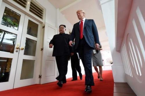 Kim Jong-un dan trump