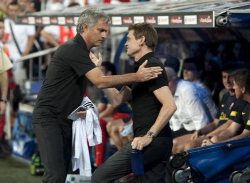 Jose Mourinho dan Tito Vilanova (Foto: Istimewa)