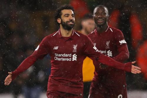 Mohamed Salah dan Naby Keita (Foto: Twitter/@LFC)