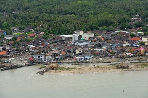 Tsunami di Banten (Susi Air)