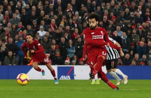 Mohamed Salah (Foto: Twitter/@premierleague)