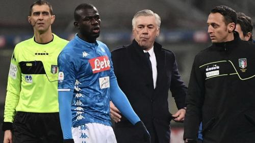 Kalidou Koulibaly dan Ancelotti