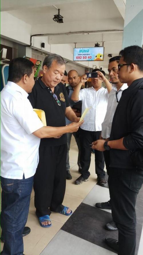 Satgas Antimafia Bola Mabes Polri Menangkap Anggota Komite Eksekutif (Exco) PSSI Johar Lin Eng terkait Dugaan Pengaturan Skor Pertandingan Sepakbola (foto: Istimewa)