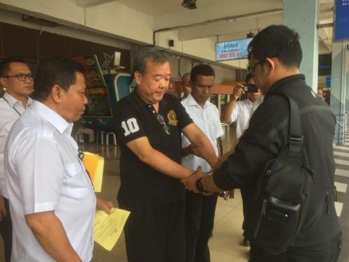 Satgas Antimafia Bola Polri menangkap anggota Komite Eksekutif (Exco) PSSI Johar Lin Eng terkait dugaan pengaturan skor pertandingan. (Foto: Istimewa)