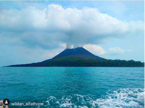 Gunung Anak Krakatau (Dok Ist)