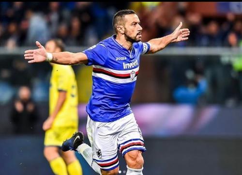 Fabio Quagliarella pernah berstatus top skor