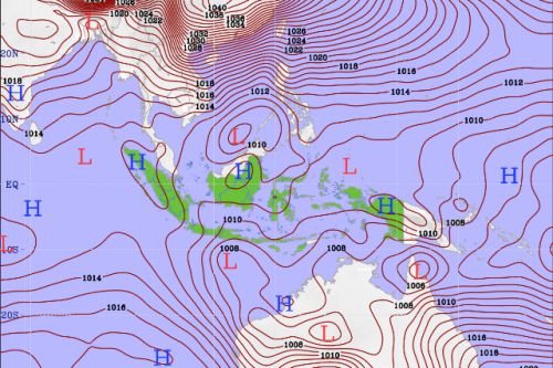 Ilustrasi Peta Laut
