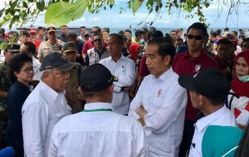 Jokowi di Lampung Selatan (Biro Pers)