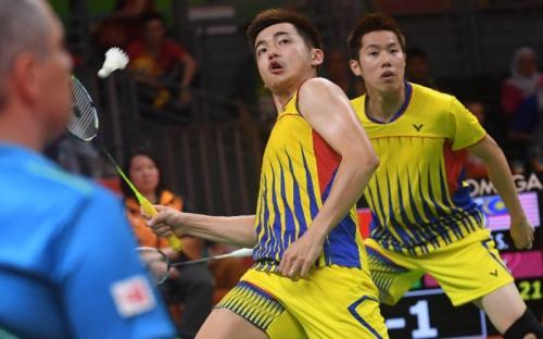 Goh V Shem/Tan Wee Kiong (Foto: AFP)