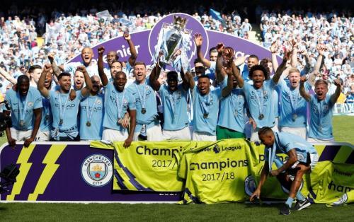 Man City juara