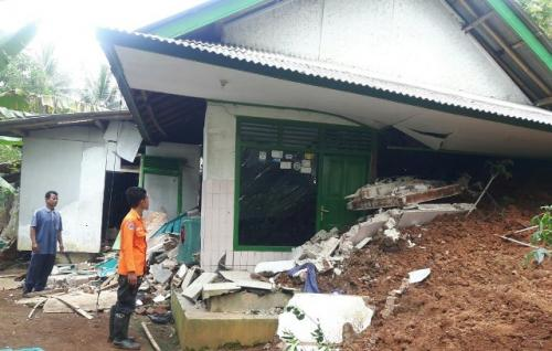Pangandaran daerah rawan bencana