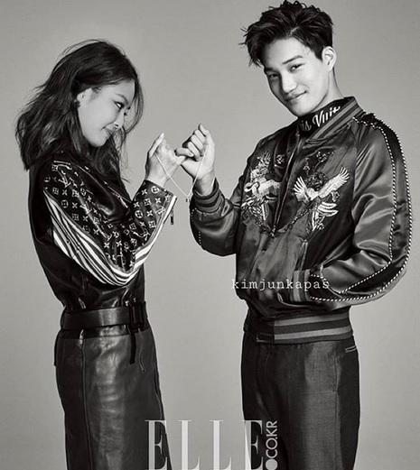 Kai 'EXO' dan Jennie 'BLACKPINK'