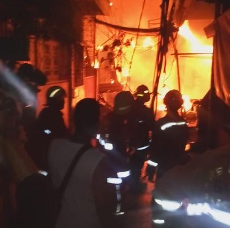 Kebakaran di Jelambar, Jakarta Barat. (Ist)