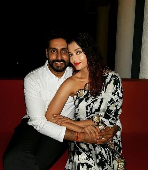 Aishwarya Rai dan Abhishek Bachchan