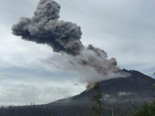 Gunung sinabung (pvmbg)
