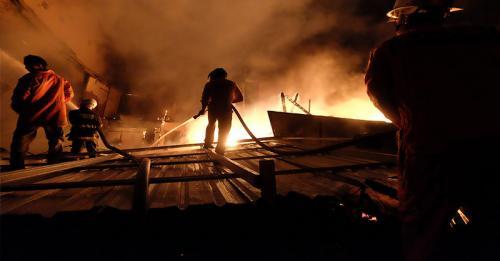 Ilustrasi kebakaran. (Foto: Ist)