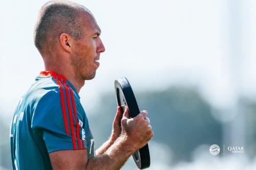 Arjen Robben berstatus tanpa klub