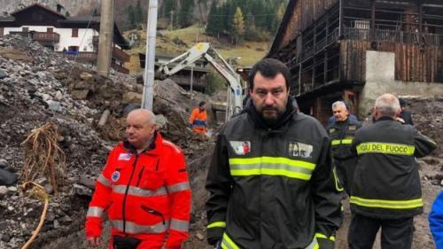 Menteri Dalam Negeri Italia, Matteo Salvini. (Foto : BBC)
