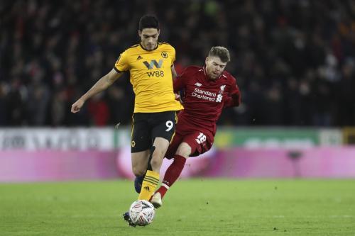 Laga Wolverhampton vs Liverpool