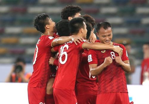 Irak vs Vietnam (Foto: Twitter Asian Cup)