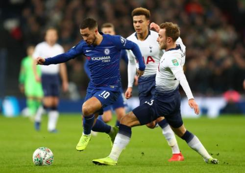 Tottenham vs Chelsea (Foto: Laman resmi Chelsea)