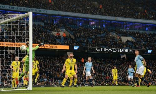 Gabriel Jesus menyumbang empat gol di laga tersebut (Foto: laman resmi Man City)