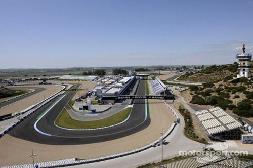 Sirkuit Jerez akan menjadi tuan rumah dua seri beruntun
