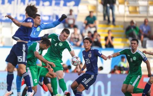 Timnas Jepang vs Turkmenistan (Foto: laman resmi AFC)