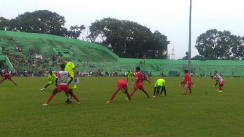 Sesi latihan Arema FC