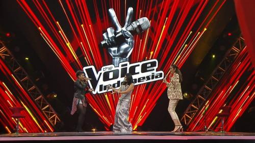 The Voice Indonesia (Foto: Twitter)
