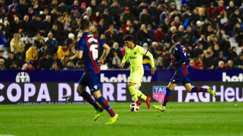Levante vs Barcelona (Foto: Twitter Barcelona)