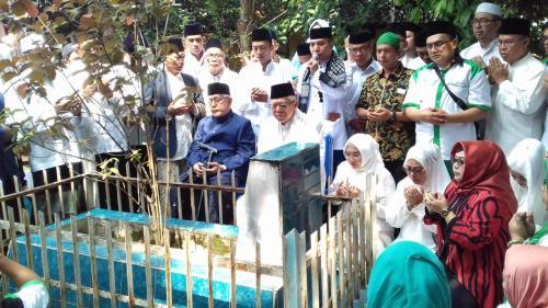 Ma'ruf Amin ziarah ke makam Syekh Maulana Yusuf