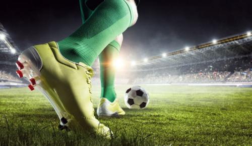 Ilustrasi lapangan sepakbola