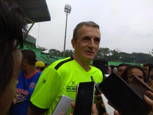 Milomir Seslija (Foto: Avirista Midaada/Okezone)