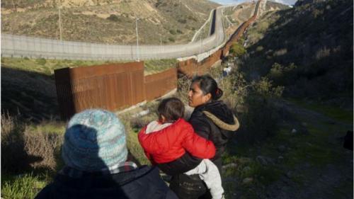Migran sering ditangkap di AS