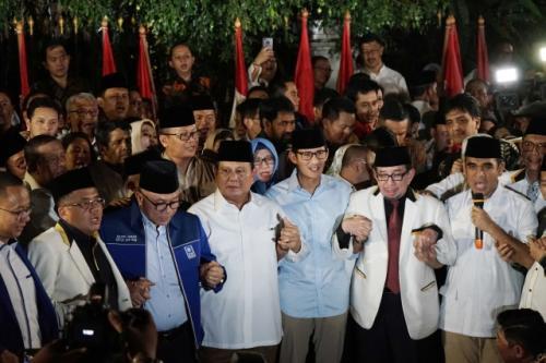 Prabowo-Sandi dan koalisinya