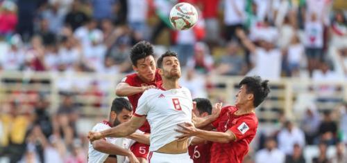 Vietnam vs Iran (Foto: AFC)