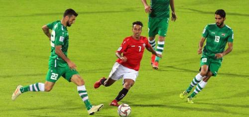 Irak vs Yaman (Foto: AFC)