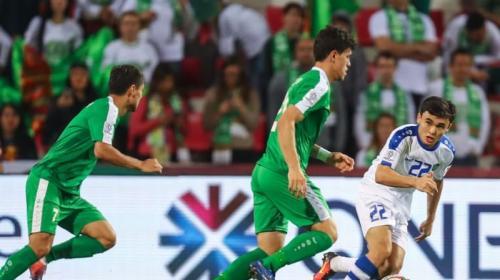 Turkmenistan vs Uzbekistan (Foto: AFC)