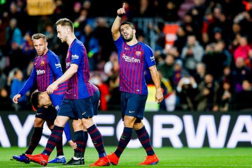 Barcelona vs Eibar (Foto: Twitter Barcelona)