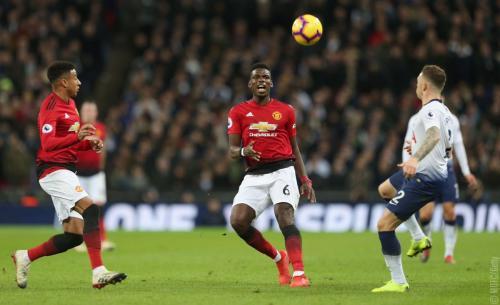 Tottenham vs Man United (Foto: Twitter Man United)