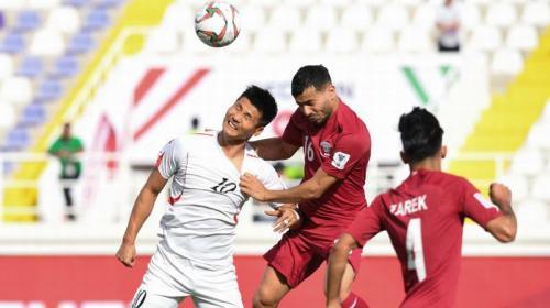 Korut vs Qatar (Foto: AFC)