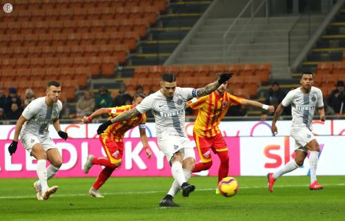 Inter vs Benevento (Foto: @Inter/Twitter)