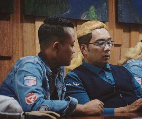 Ridwan Kamil dan Sule (IG)