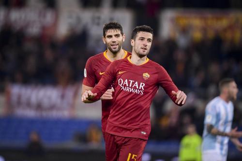 AS Roma vs Virtus Entella (Foto: Twitter AS Roma)