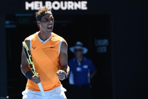 Rafael Nadal (Foto: Twitter Australia Open)