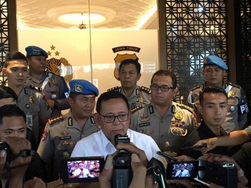 Kapolda Jatim Irjen Luki Hermawan. (Foto : Syaiful Islam/Okezone)