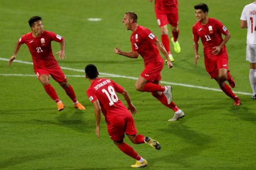 Timnas Kirgistan (Foto: Laman resmi AFC)