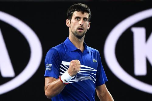 Novak Djokovic (Foto: Twitter AustralianOpen)
