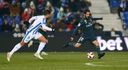 Leganes vs Real Madrid (Foto: Twitter Real Madrid)